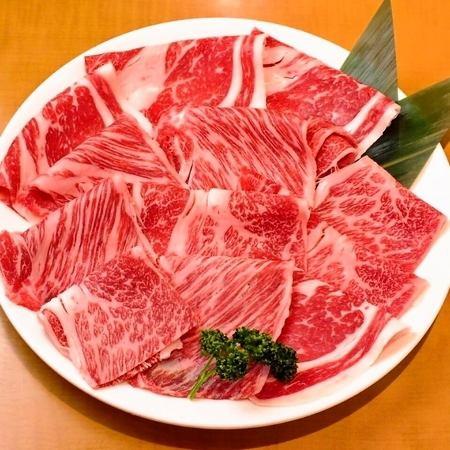品牌猪和国产牛肉涮锅所有你可以吃的设置