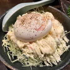 培根片温暖球土豆沙拉