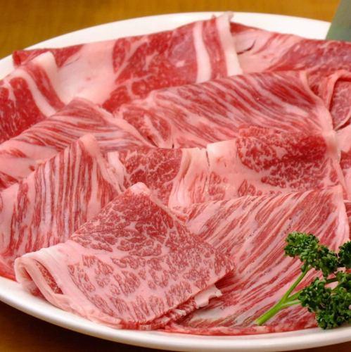 【精心挑选的牛和猪♪2小时涮涮锅所有你可以吃♪】■选择牛和品牌猪,大山鸡,沙拉吧■
