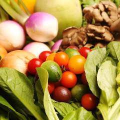 以神奈川县为中心的承诺的国内蔬菜。