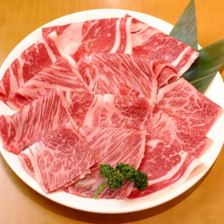 【2h all you can eat】 Super best A4 Kuroge Wagyu MIX All you can eat & All you can eat Biking × All you can drink course 5980 yen