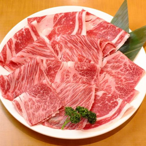 All-you-can-eat and drink for up to 12 hours! 【From Monday to Thursday only】 Excellent A4 Kuroge Wagyu Beef MIX All you can eat free all course course 5960 yen