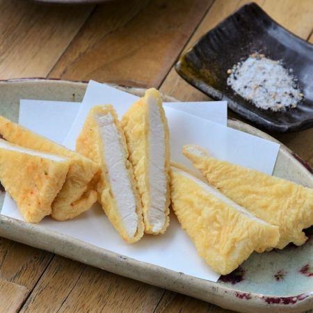 カジキマグロの天ぷら