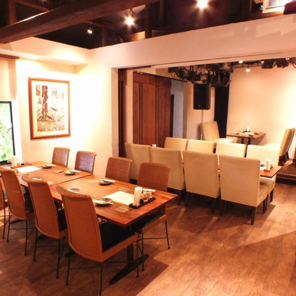 [2F] The sofa seat is a calm seat perfect for people who want to dine relaxedly.There are a variety of courses available for various scenes, so please enjoy Okinawa cuisine to the fullest.