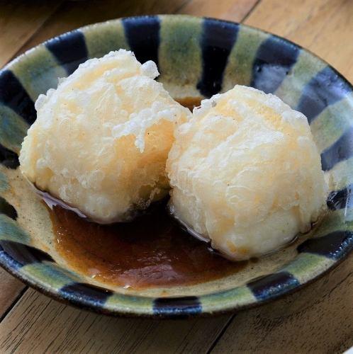 ジーマーミ豆腐の揚げだし(中/大)