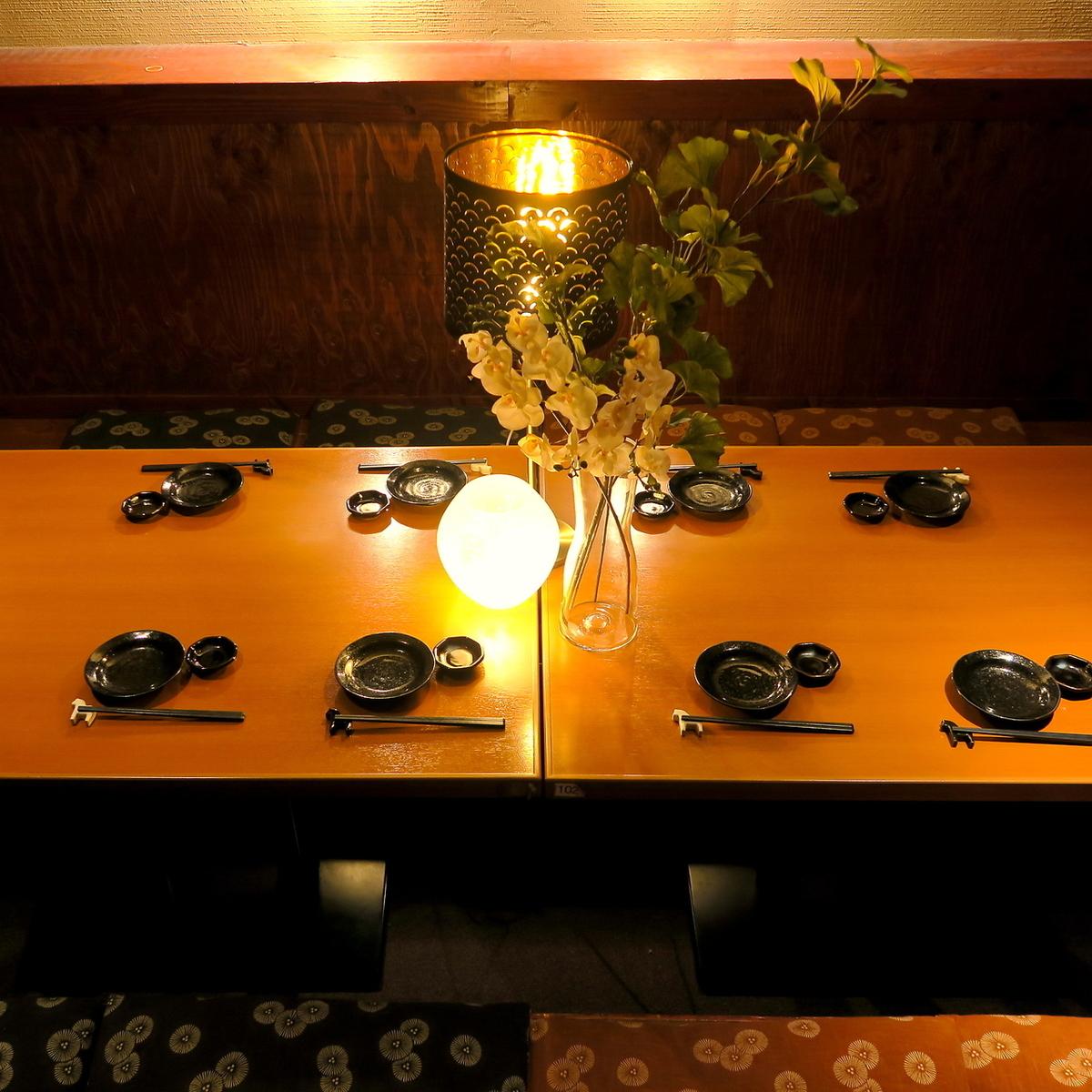 【最大70~80名様まで◎】仕切りがあるので10名様~OK★会社宴会、同窓会におすすめのお席になります。