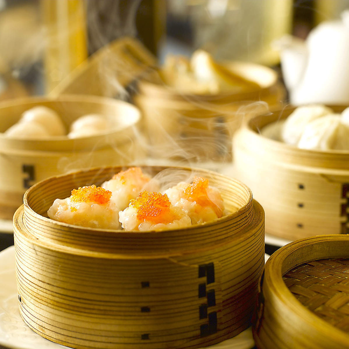 "【Popular with women】 ""Shark's fin dumplings"" and ""Home made shoumai"" can be tasted ♪ Dim Sum course!"