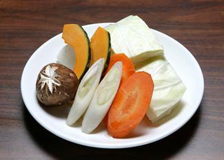 野菜焼き盛合せ