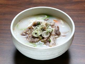 コムタンスープ/鶏コムタンスープ