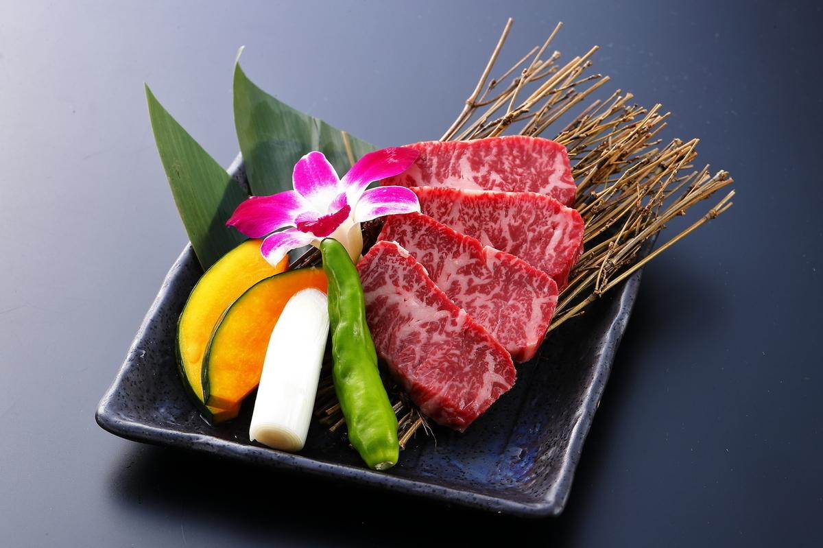 Kuroge Wagyu beef A 5 subtone