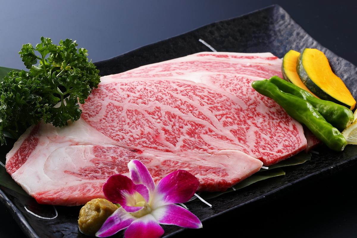 Kuroge Wagyu beef A 5 ribulose