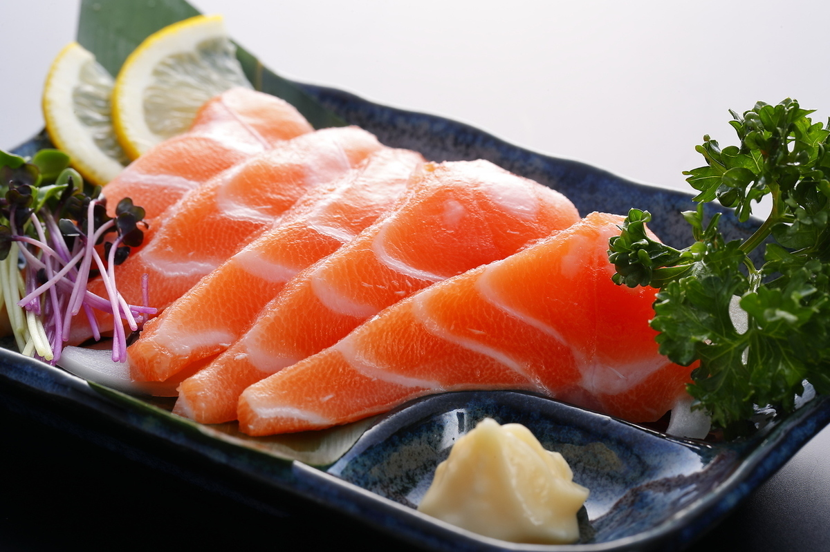 Salmon stab