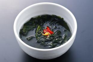 野菜スープ/ワカメスープ