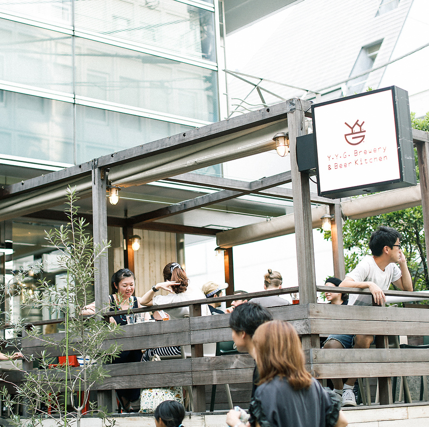 【Terrace Seating】 Family use warm welcome ♪