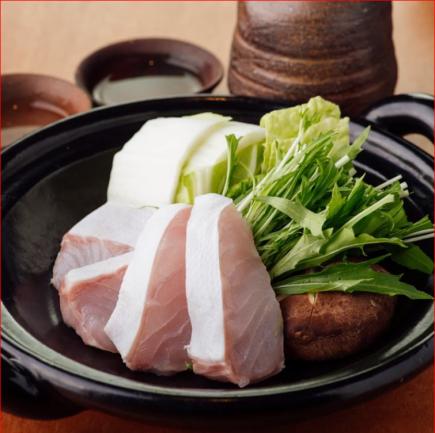 【格別】贅沢を尽くした極み食材『梅クエの特上コース』6品15,000円