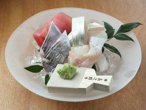 新鮮な魚をお楽しみ頂けます!