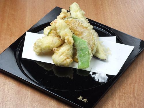 紀の国みかん鶏天麩羅御膳
