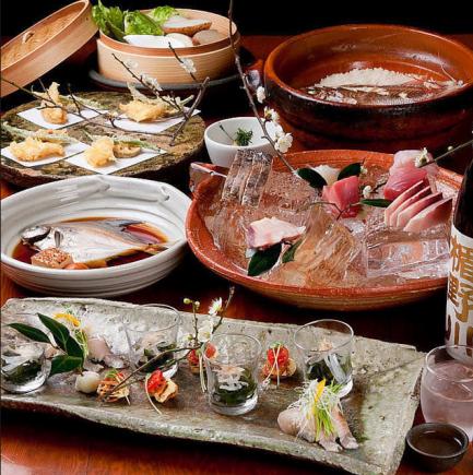 【ランチで人気】紀州の味覚が堪能できる『紀州の鯛めしコース』 7品 6,000円→4,000円