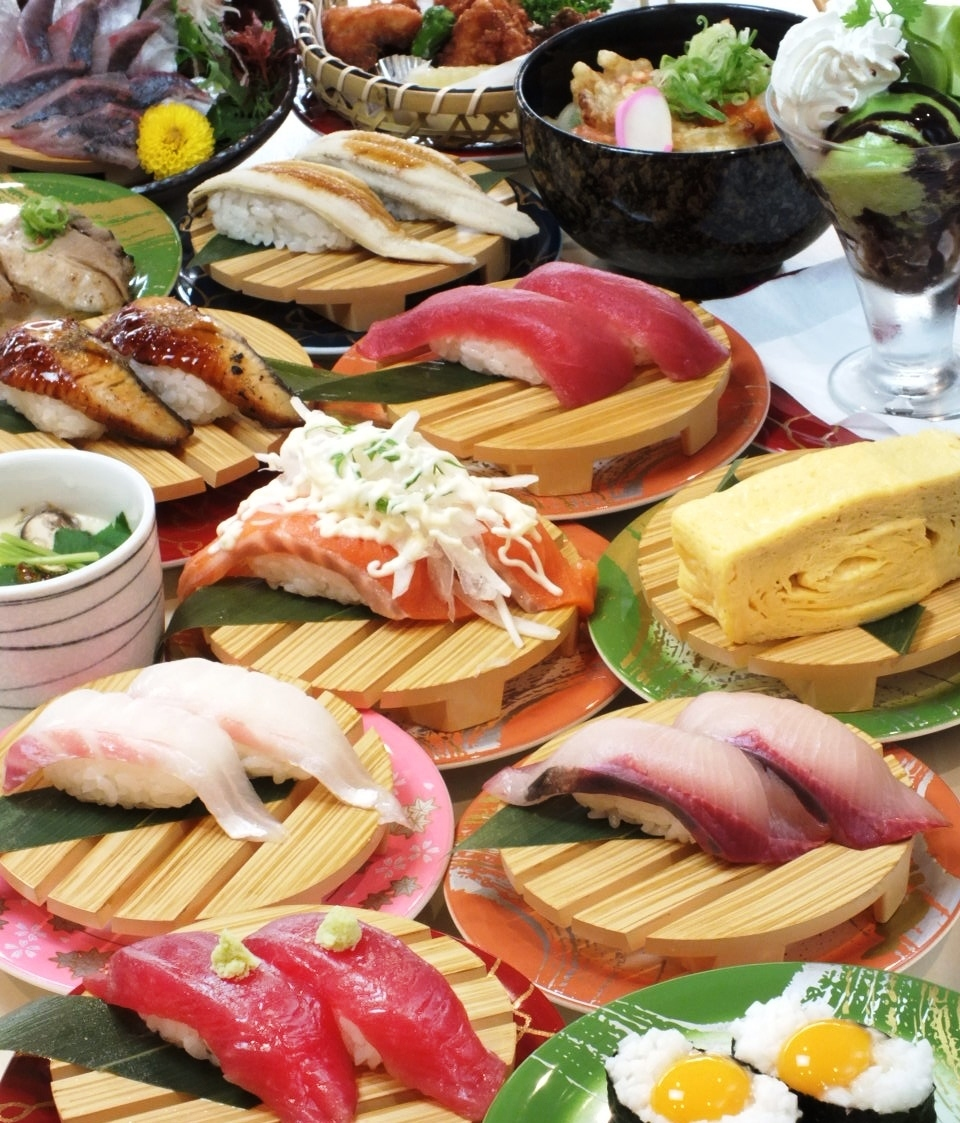 A dish of 100 yen (withdrawal) is reasonable! With over 100 kinds of menus