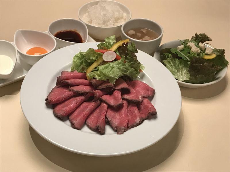 【Roast beef festival】 Holding!