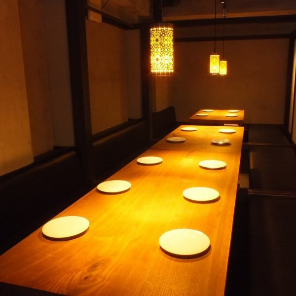 The second floor is the banquet of seats digging your stand to each number of people in the private room corresponding ♪ up to 36 people is also available.Women's Board of the company banquet Party