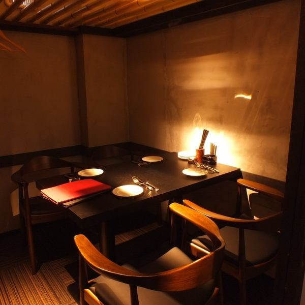 Adult space calm and relax.3F of the table private room is also ideal for such as entertainment or dinner.To produce a non-everyday.