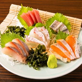 Fresh fish sashimi 5 pcs