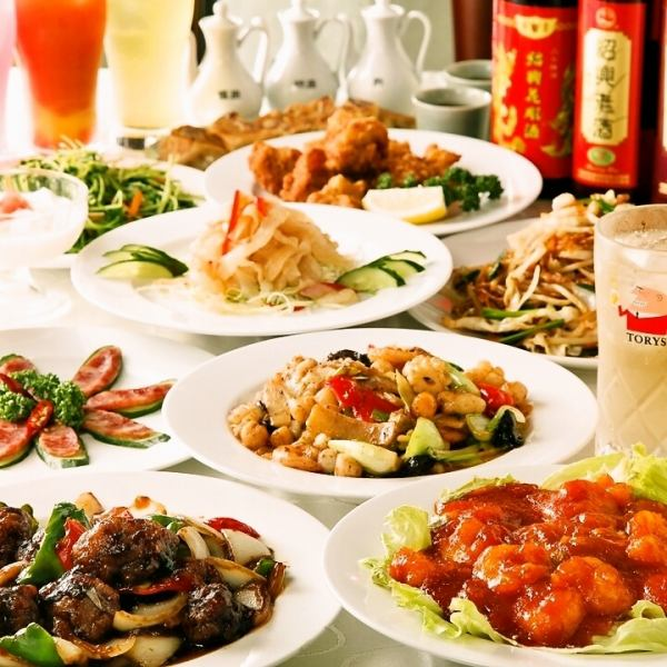 [Enjoy the 100 species authentic Chinese!] 2 hours drink all-you-can-eat course