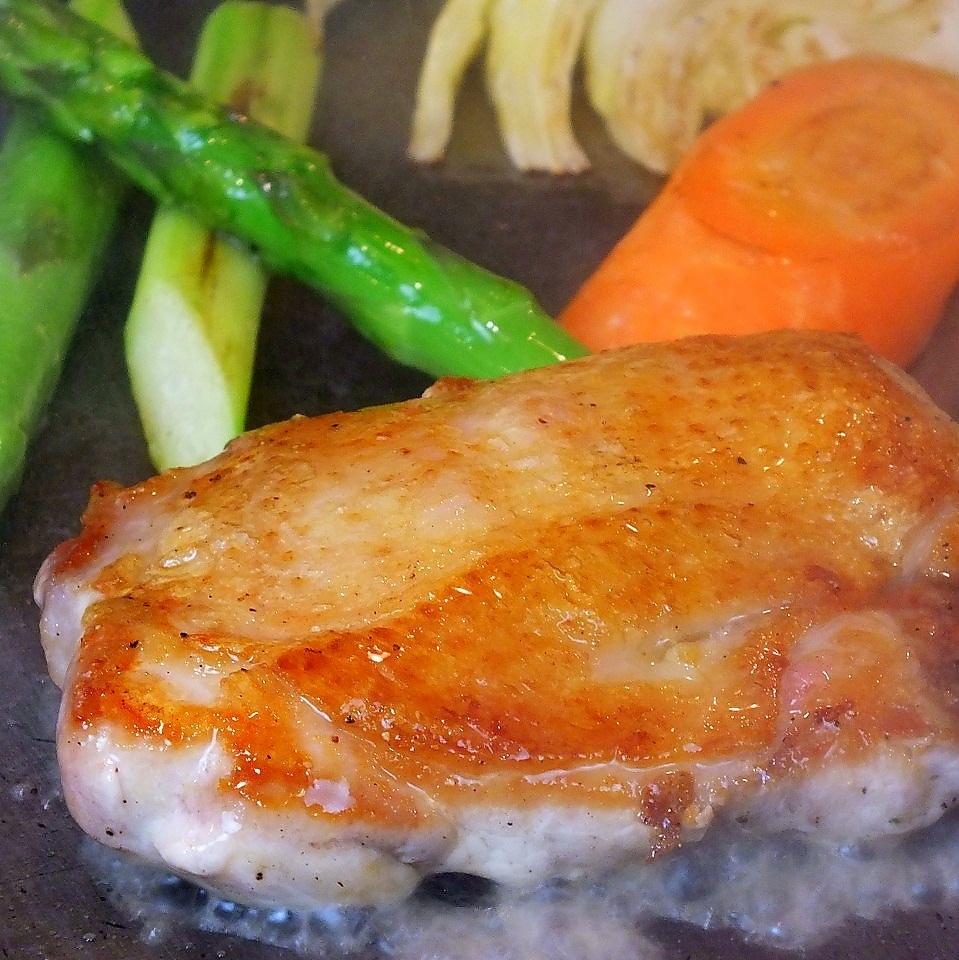 이와테 현산 이와이 닭 허벅지 육즙 치킨