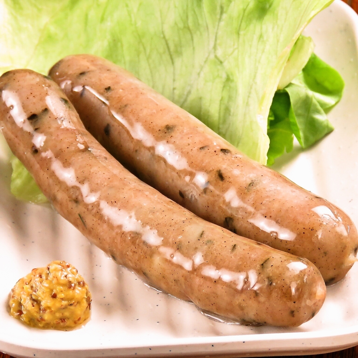 Okinawa-made au-boil boiled herb sausage