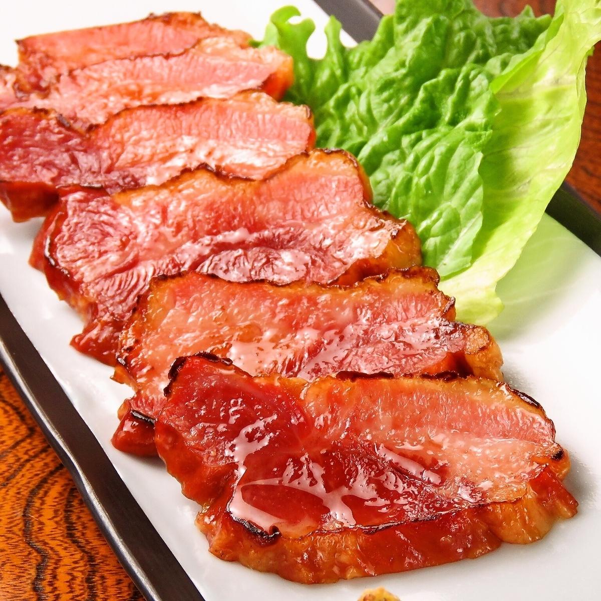 Okinawan pig bacon