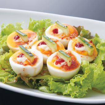 軟煮雞蛋沙拉
