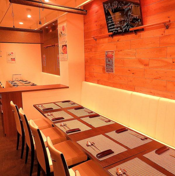 By joining the tables you can use up to 20 people.【Okayama / Korean Cuisine / Izakaya / All you can drink / Cheese Duckcarbie / Samgyeopsal / Samgyetang / Girls Association】