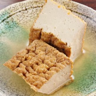 Deep-fried tofu tofu