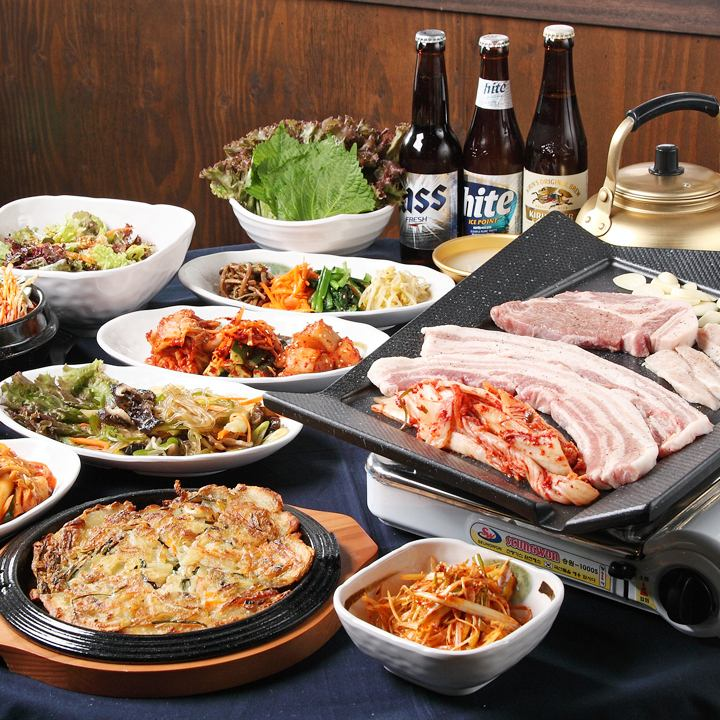 Gorgeous! Samgyeopsal 1680 yen all-you-can-eat! Super exceptional satisfaction course ♪
