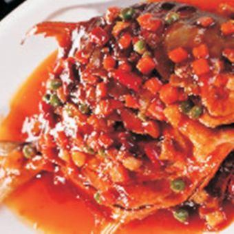 Stewed seasoning with seasoned oil