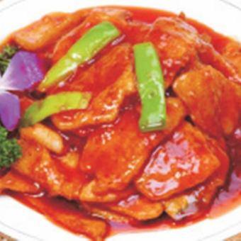 软鲍鱼煮酱油