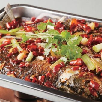 Special fish specialties Sichuan style stew