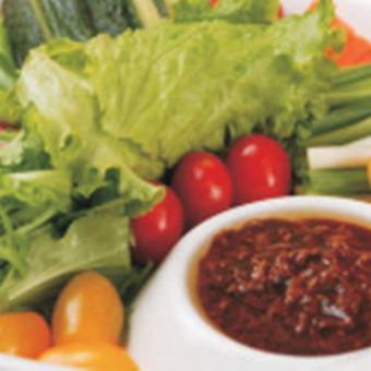 阿利亚的蔬菜拼盘