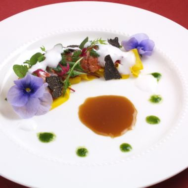 【The finest night】 Popular No. 1 Gourmet dinner course made from the recommended dish of the day 10000 yen