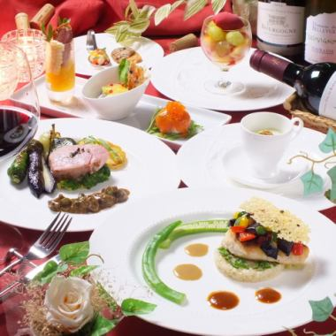 【Ichioshi !!】 When you get lost leave it to CHEF to make with the recommended dish of the day Full course 7500 yen
