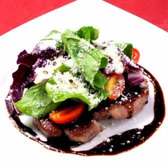 이베 리코 돼지 뻬죠타 목살 스테이크 샐러드