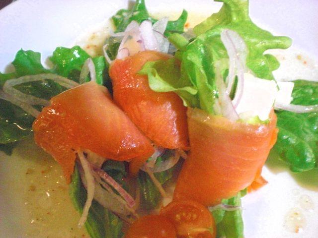 熏制鲑鱼奶油芝士豆腐