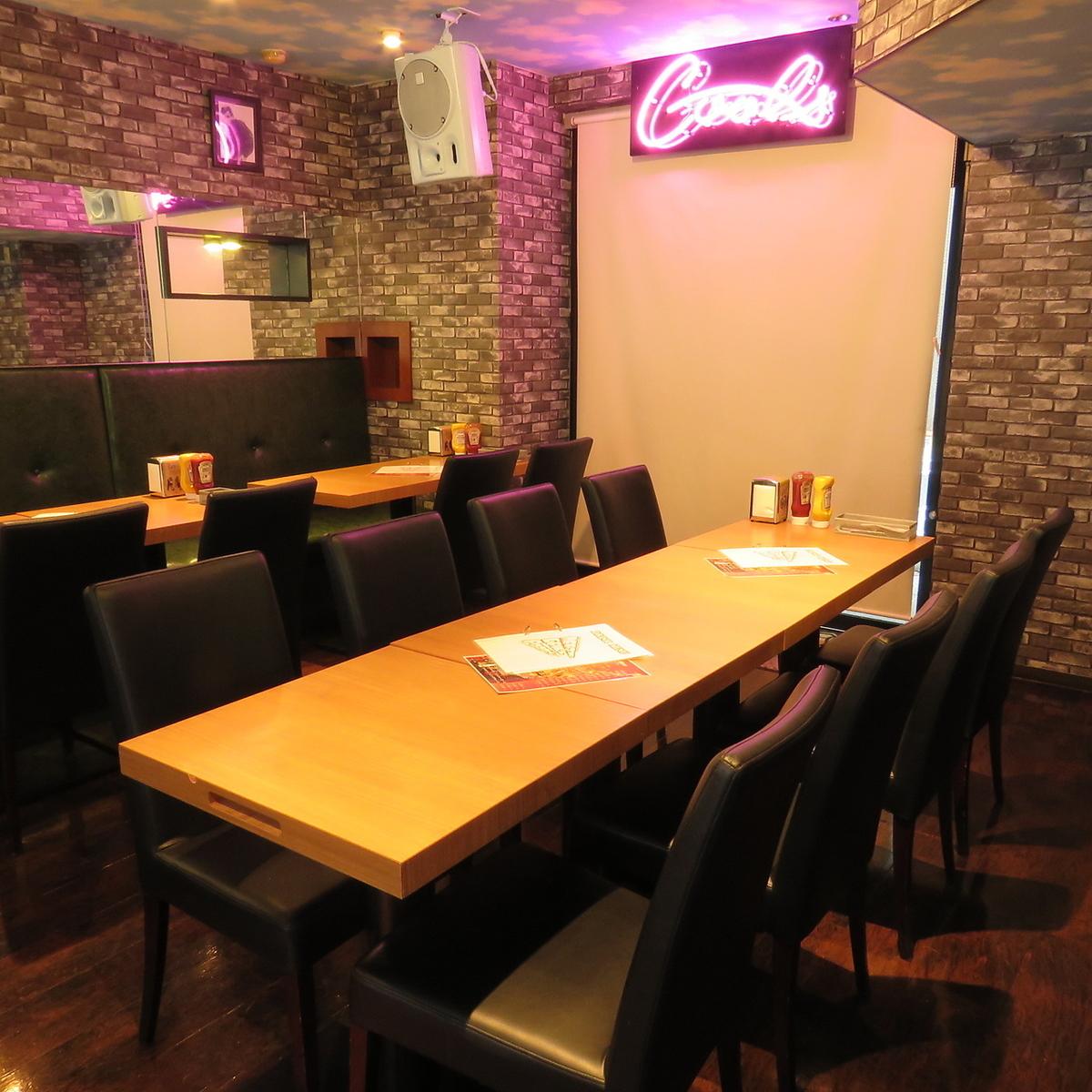 【餐桌座位】小團體飲酒派對和生日,適合女童會!