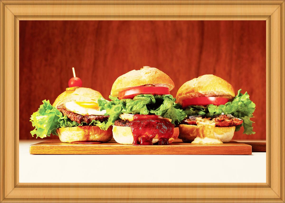 专业☆Tamadimi烧烤汉堡和生动的色彩课程♪