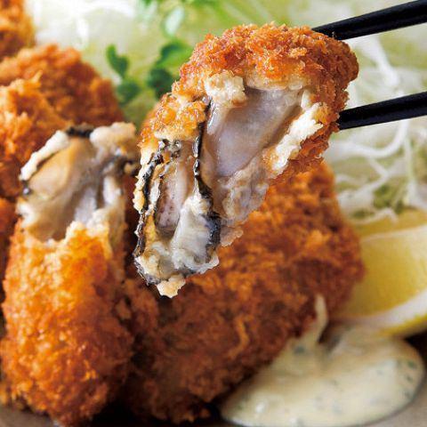 牡蠣炒〜特製塔塔醬〜