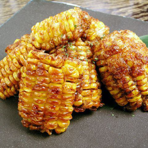 【Tamamatsu Soy Sauce】 Deep-fried corn