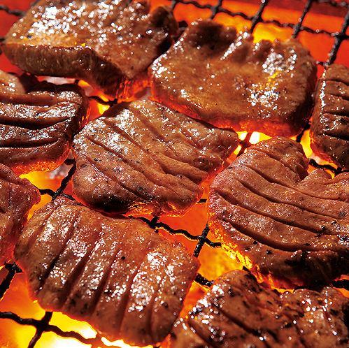【仙台名物!】厚切り牛タン焼き
