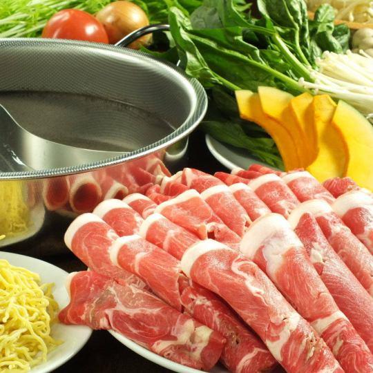 ラム肉&野菜120分食べ放題 飲み放題付 5000円 (+500円で豚肉or鹿肉も追加OK!!)