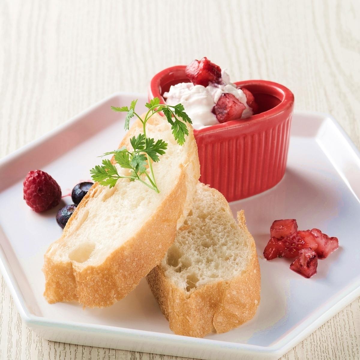莓果漿果奶酪